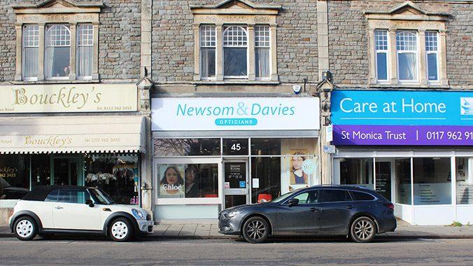 Newsom & Davies new external signage