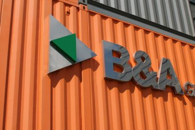 B&A Group headquarters in Avonmouth