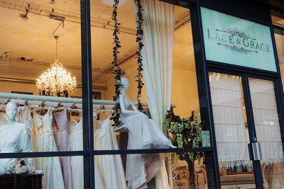 Lace and Grace shop window