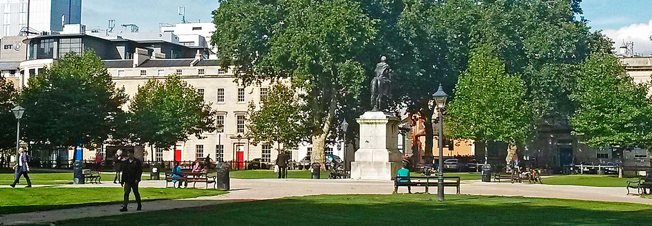 Queen Square Bristol
