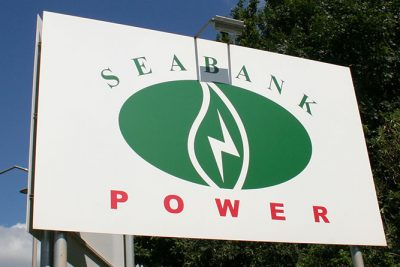 Seabank Power exterior sign