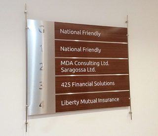 Internal Ground Floor Signage