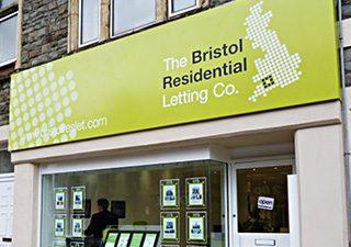 Bristol Residential Lets shop frontage