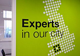 Experts in our city wall graphics